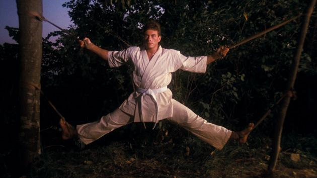 bloodsport training montage