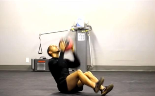 Solid Core Medicine Ball Circuit [VIDEO]