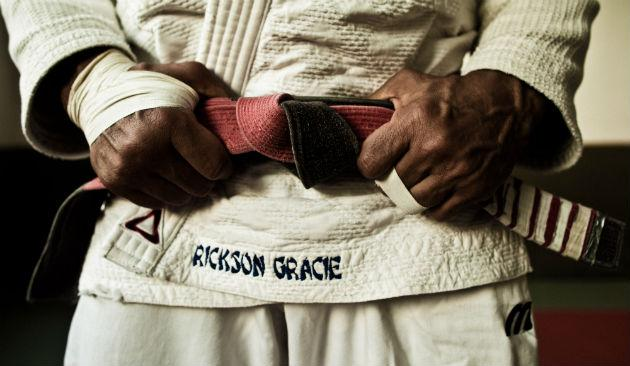 MMA legend Rickson Gracie