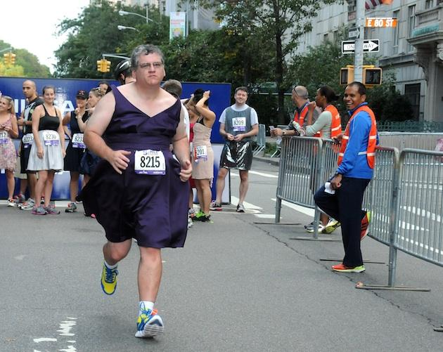 Would You Run in a Dress For Charity?