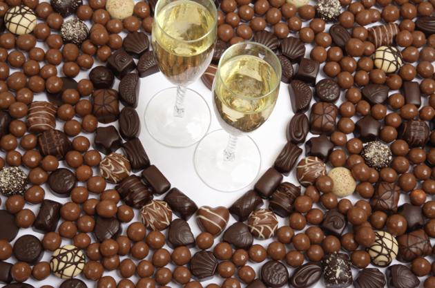 Chocolate and Champagne