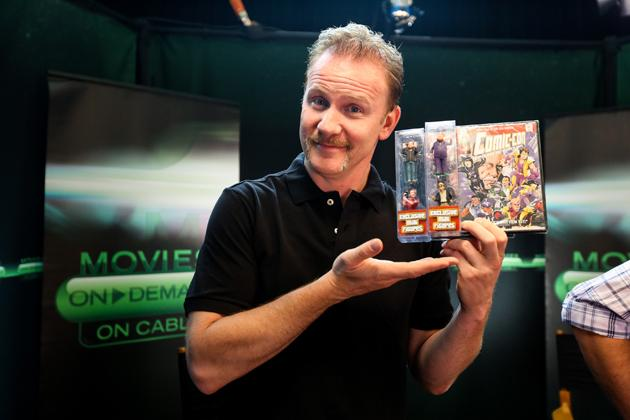 Morgan Spurlock: From Supersize to San Diego Comic-Con