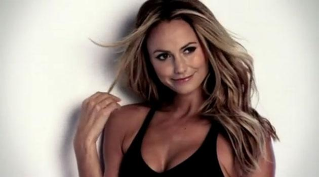 Stacy Keibler Heats Up the Cover of Men's Fitness [VIDEO]