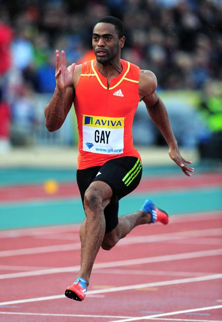 Olympic Sprinter Tyson Gay