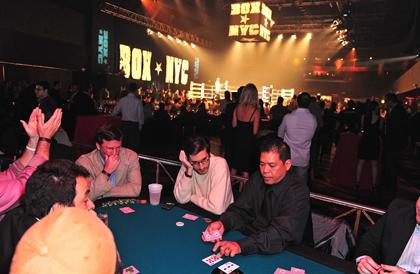 World Series of Poker qualifier at Box NTC at the Roseland Ballroom in New York City