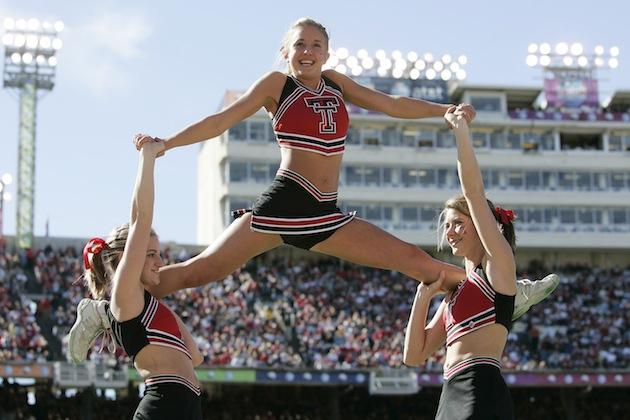 Texas Tech cheerleaders
