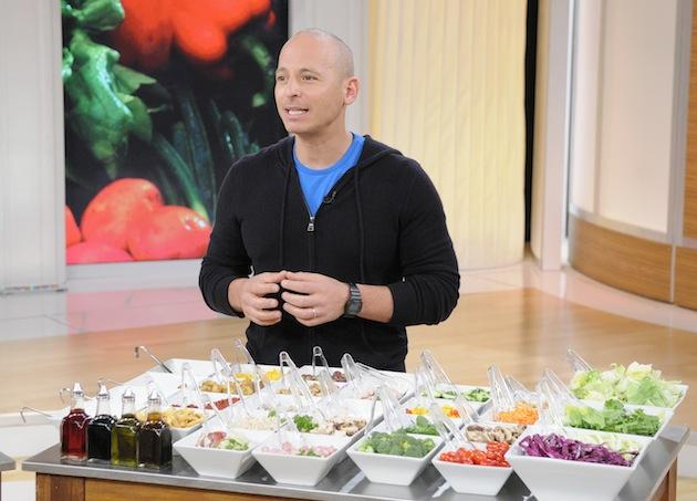 Harley Pasternak and healthy ingredients
