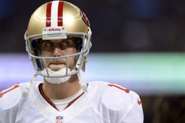 San Francisco 49ers Quarterback Alex Smith has bad luck