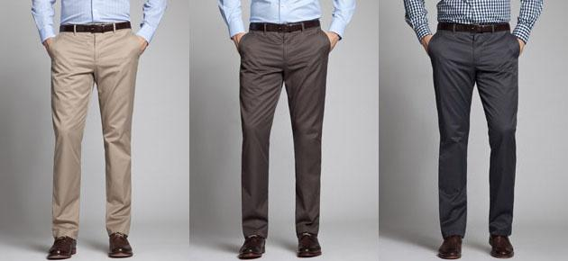 men wearing Bonobos Weekday Warriors pants