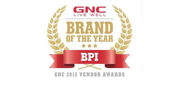 GNC Brand of the Year Award