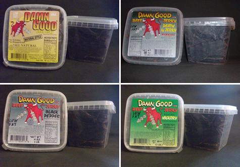 The 12 (Business) Days of Christmas and Hanukkah: Day 9 - Damn Good Jerky