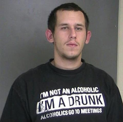 Surprise! Man Wearing 'I'm A Drunk' T-shirt Arrested for DWI