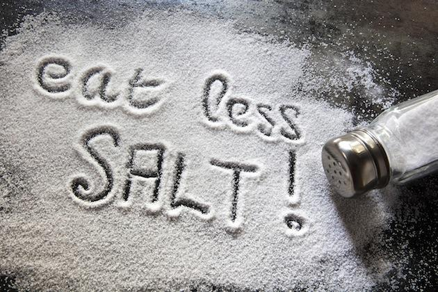 spilled salt - eat less salt