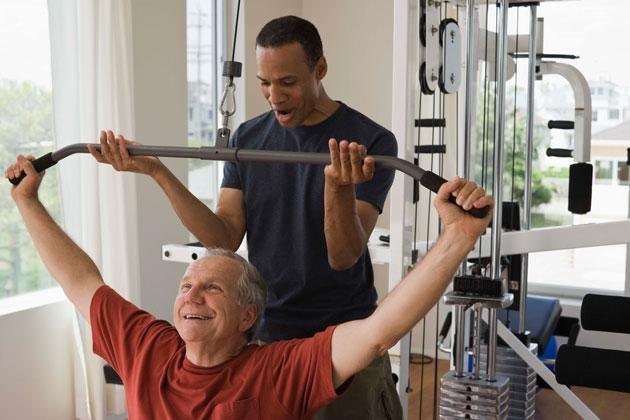 Strength Training Boosts Seniors' Brains