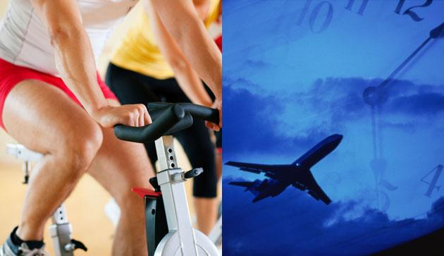 Quick Tip: Fight Jet Lag With Exercise