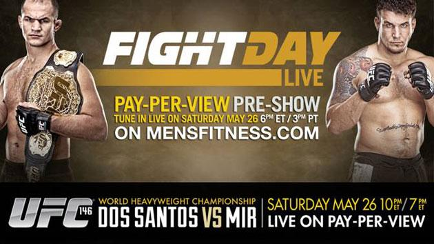 Fight Day Live - Junior Dos Santos and Frank Mir