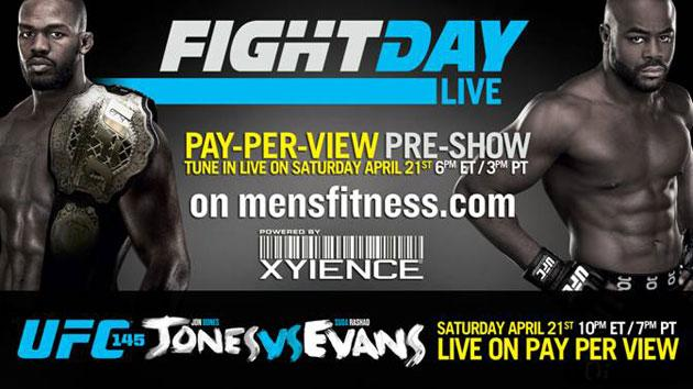 Jon Jones vs. Rashad Evans Fight Day Live