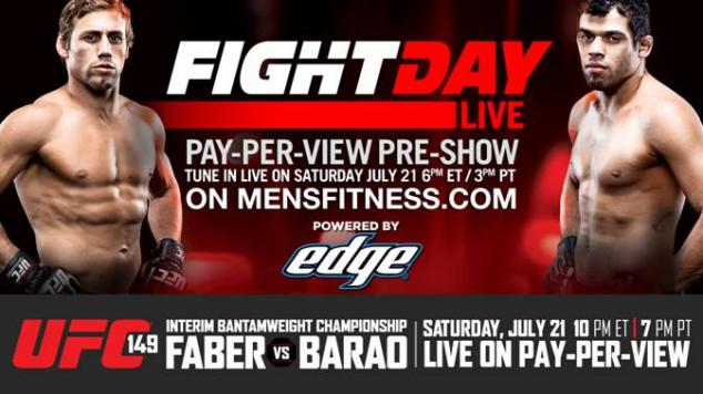 UFC 149 Fight Day Live