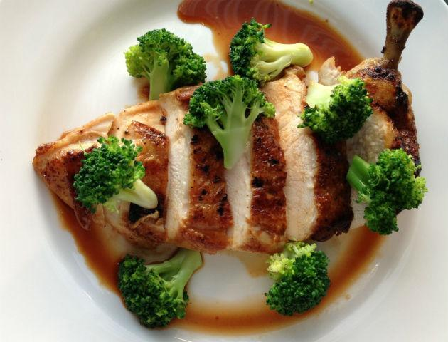szechuan chicken with broccoli