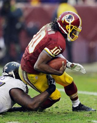 Washington Redskins Robert Griffin III Avoids Torn ACL