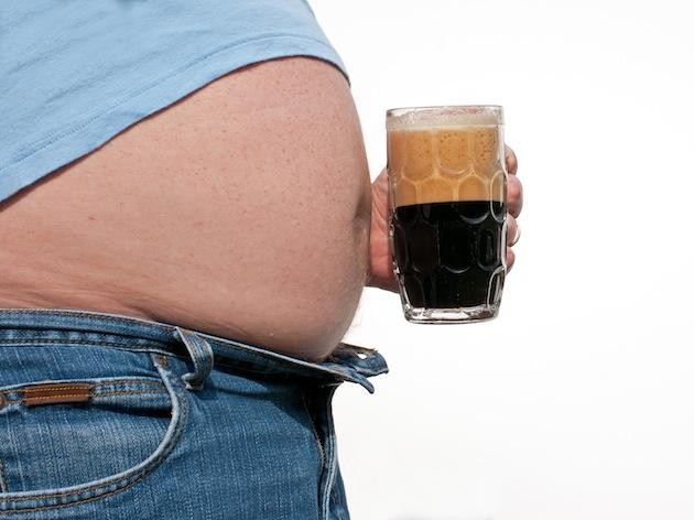 man beer belly love handles