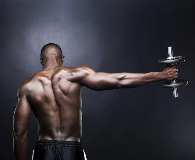 For Sore Muscles, Ditch the Long-Term Pain Meds -- Man working out
