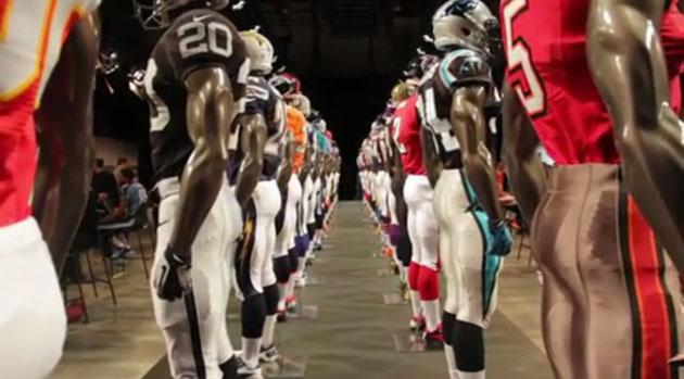 New Nike NFL Jerseys [VIDEO]