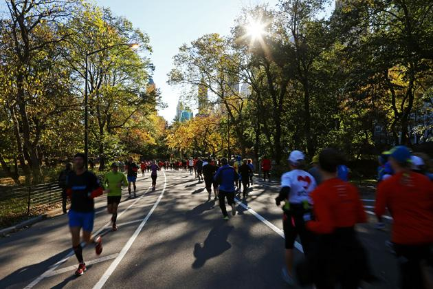 running NYC marathon supplies to Hurricane Sandy Victims