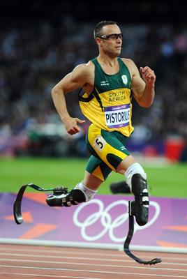 Oscar Pistorius, Olympic Track and Field