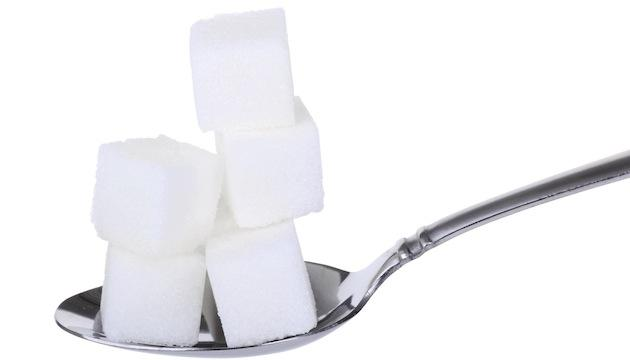 spoonful of sugar cubes
