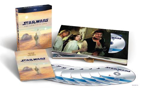 Review: Star Wars, The Complete Saga (Blu-ray)
