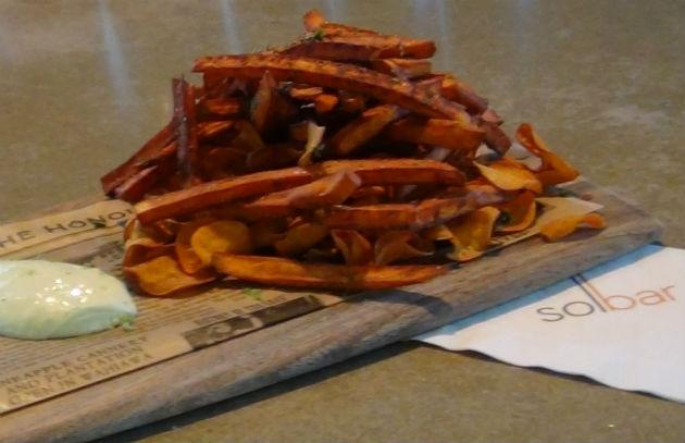 Solbar sweet potato fries