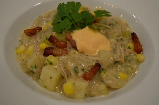Healthy Dinner Idea: Creamy, Lower-Fat Turkey Chowder