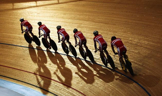 London's Velodrome Cycling Track