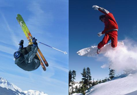 Are you a skier or a snowboarder?