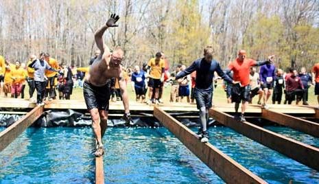 Twinkle Toes Tough Mudder Obstacle