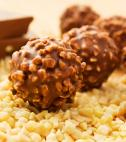chocolate almond truffles