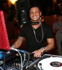 DJ Pauly D at Turntable