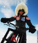 Woman Sets World Record for Biking Across Antarctica