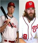 Nationals baseball player Jason Werth