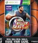 NBA Baller Beats Video Game for XBox 360 KinectM