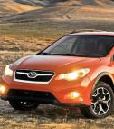 Orange Subaru XV Crosstrek