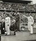 Jesse Owens wins four gold medals at Berlin Games 1936