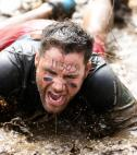 Man training for a Tough Mudder