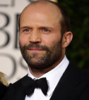 Jason Statham in a tuxedo