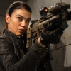 Adrianne Palicki with a gun