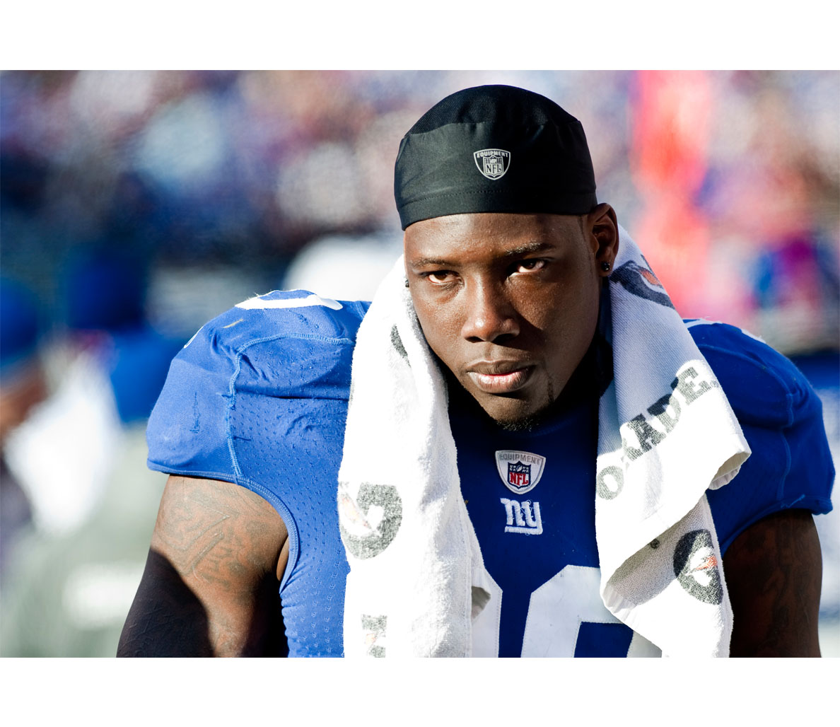 Jason Pierre Paul Girlfriend: Jason Pierre Paul Bench Presses Post-Accident
