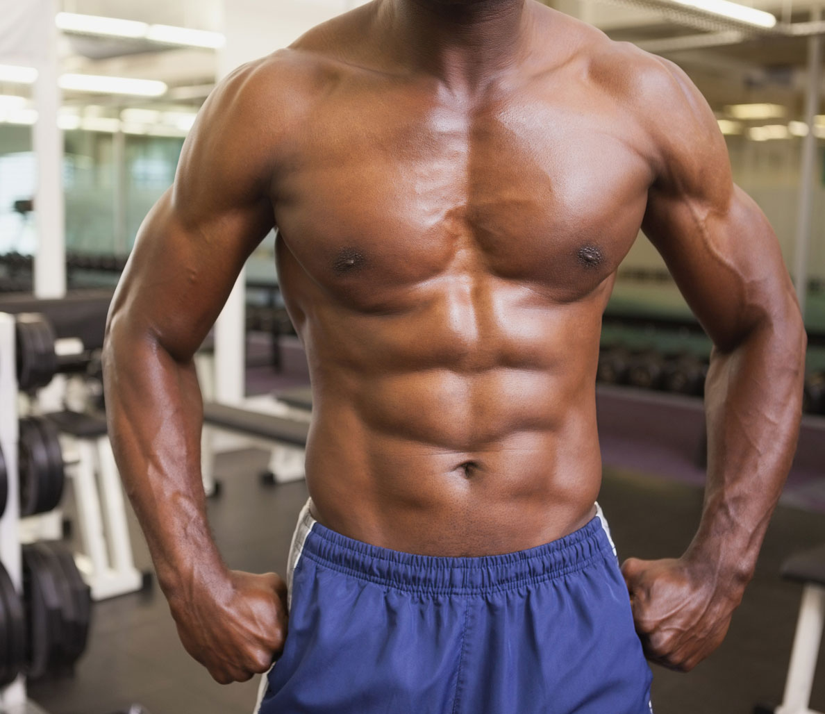 Upper body exercises that also build your core men