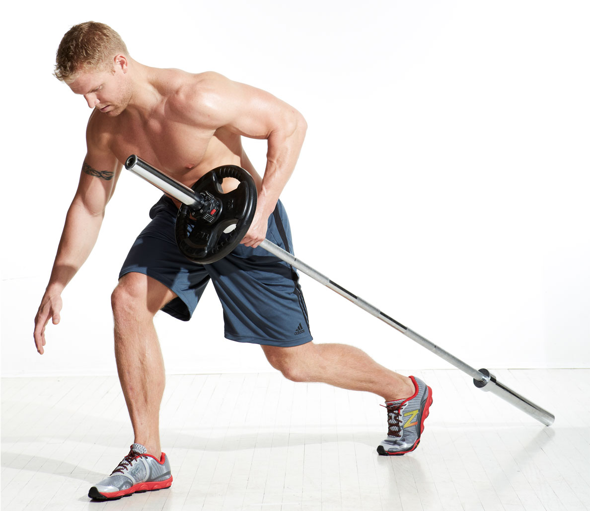 VIDEO: Total-Body With Only a Barbell Workout