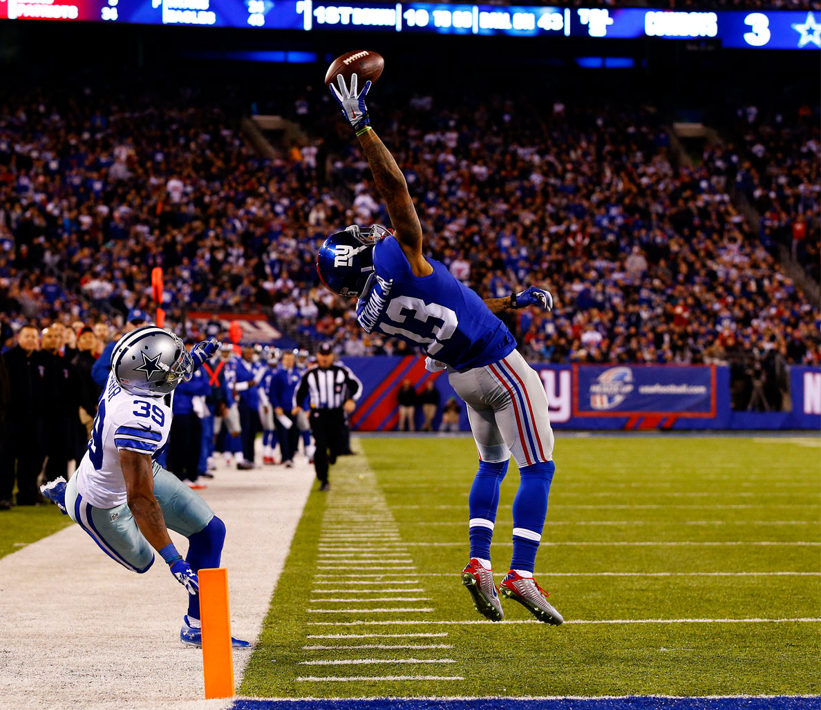 Odell Beckham makes incredible catch